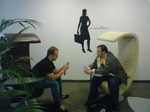 Networking auf der Gamecamp