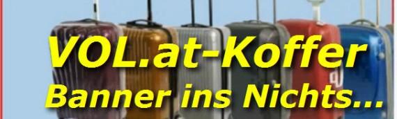 VOL-Koffer Werbung