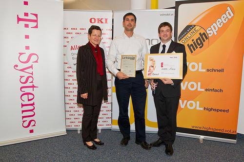 SEO Experte ist mit Doloa.de Sieger beim eAward 2011 Vorarlberg
