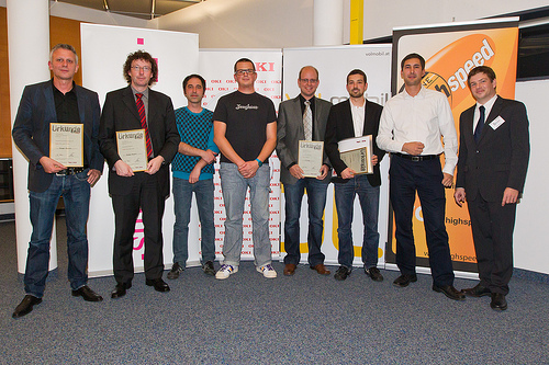 Preisträger eAward 2011 Vorarlberg