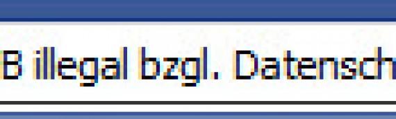 Datenschutz: Sind Facebook Like Buttons auf Webseiten illegal?