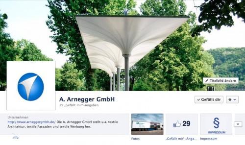 A. Arnegger GmbH auf Facebook