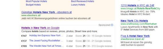 Google Hotel-Suche mit Bildern & neues Hotel-Listing nach Bewertungen & Preis steigern Abhängigkeit von Bookingportalen