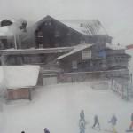 Wildkogelhaus im Schnee