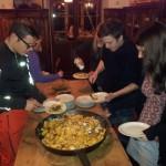 Abendessen im Wildkogelhaus mit Kaiserschmarren