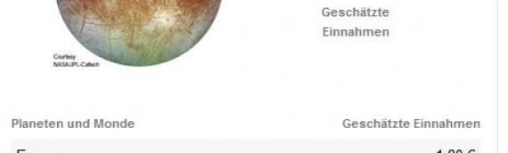 """""""Beste Planeten und Monde"""" – 1. April-Scherz bei Adsense"""