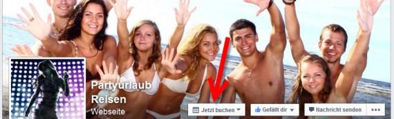 Call to Action Buttons auf Facebook nun auch in Österreich verfügbar