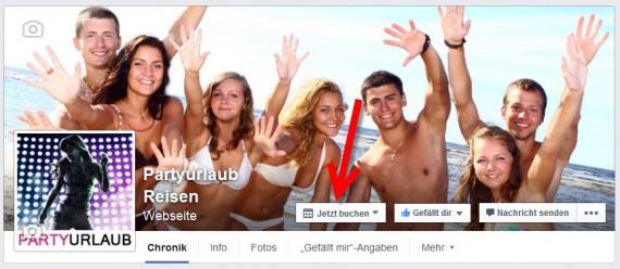 Facebook Call to Action Button auf Fanseiten