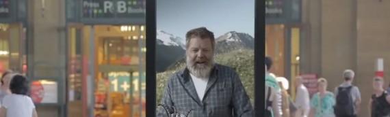 Graubünden zeigt wie's geht – Virales Marketing per Video-Chat am Bahnhof